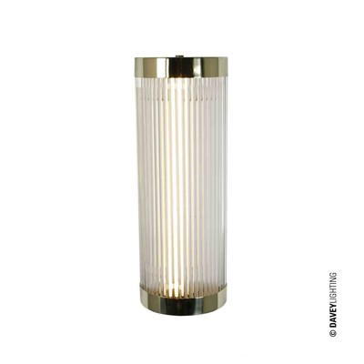 Original BTC Pillar LED Wide 40 DP7210/40/BR/WE/LED - leštěná mosaz